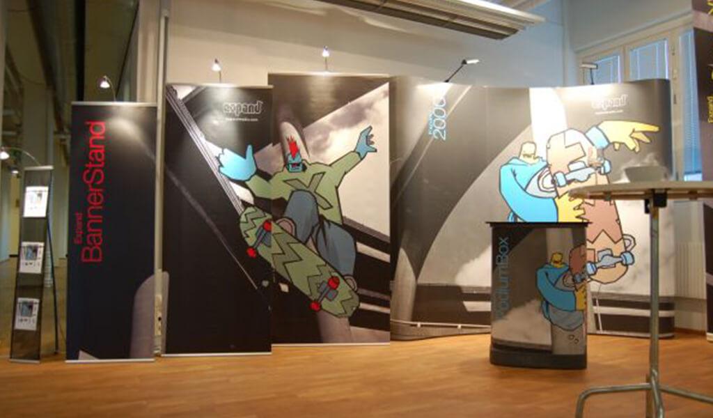 konst displaysystem