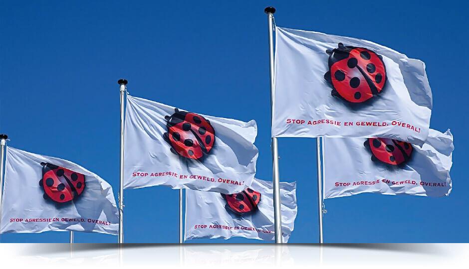 Flaggor i Kungsbacka