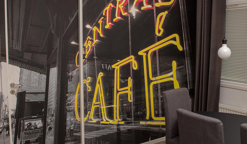 fototapet café göteborg