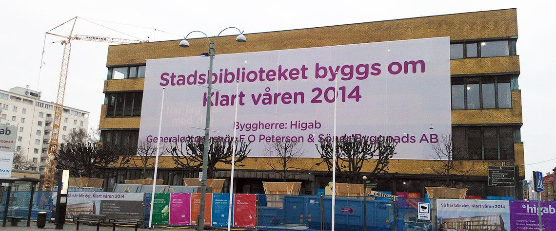 Byggnads Banderoll
